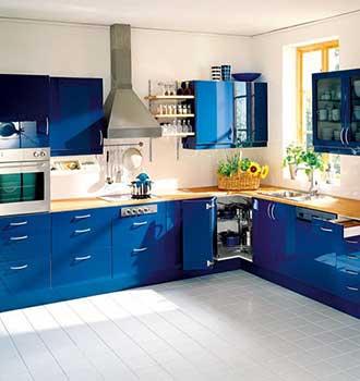 Modular kitchen designs india