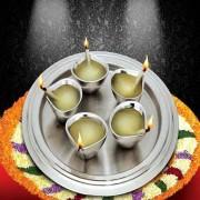 DI- Diya Thali Set .