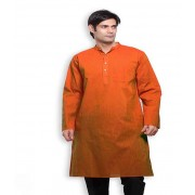 DI- Handloom Cotton Kurta with Pockets  .