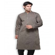 DI- Handloom Cotton Kurta with Full Sleeves .