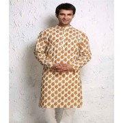 DI- Keri Design Block Printed Cotton Kurta .