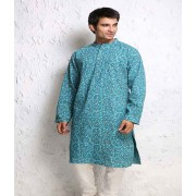 DI- Hand Block Printed Cotton Kurta .