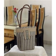 DI- Latest In Trend Handcrafted Striper Design Bag  .