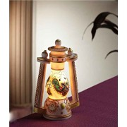 DI- Hand Painted Marble Lantern  .