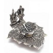 DI- Handcrafted Laxmi-Ganesh Deepak  .