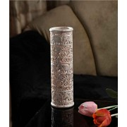 DI- Finely carved cylindrical vase  .
