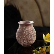 DI- Artistic carved stone vase  .