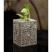 DI- Carved stone artistic Planter  .