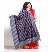 DI- Navy and light Blue Keri Design Pashmina shawl  .