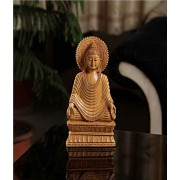 DI- Kadamwood Buddha figurine .