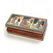 DI- Real Gem Stone Jewellery Box 008  .