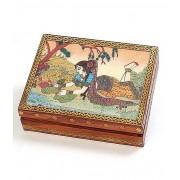 DI- Real Gem Stone Jewellery Box 010 3 .